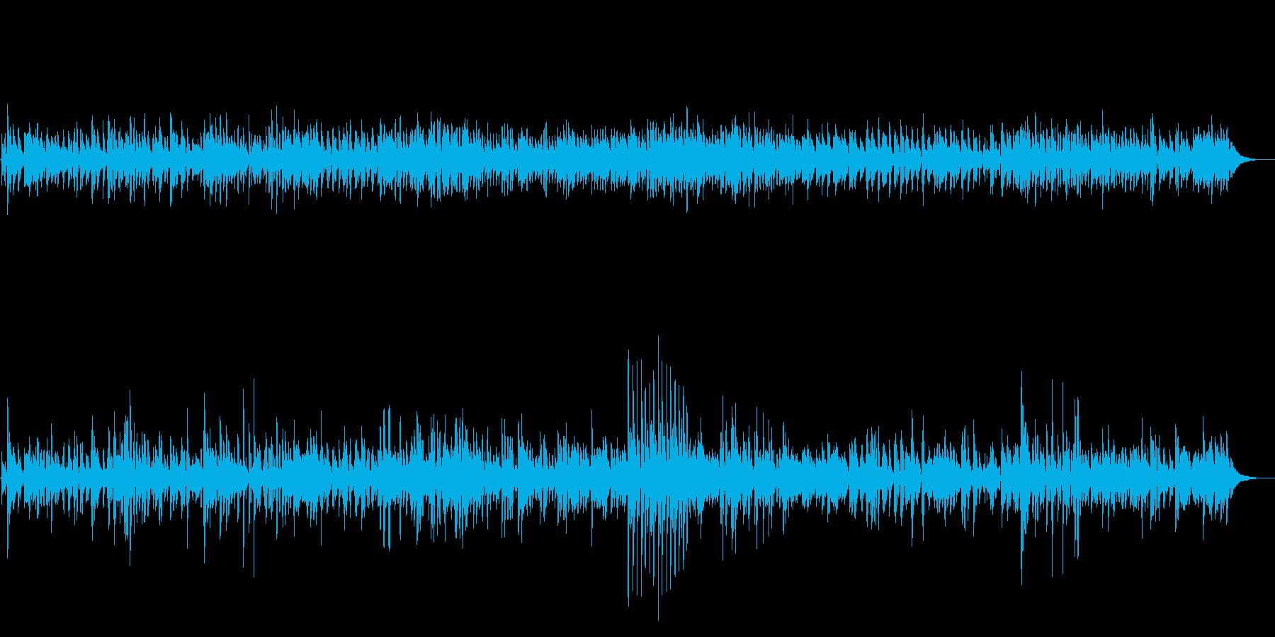 JAZZ 爽やかなリラックスカフェBGMの再生済みの波形