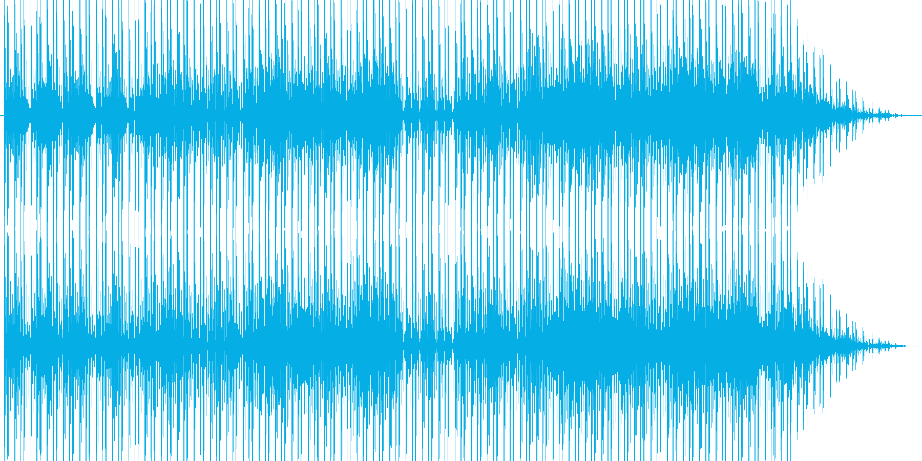のどかな雰囲気のR&Bですの再生済みの波形