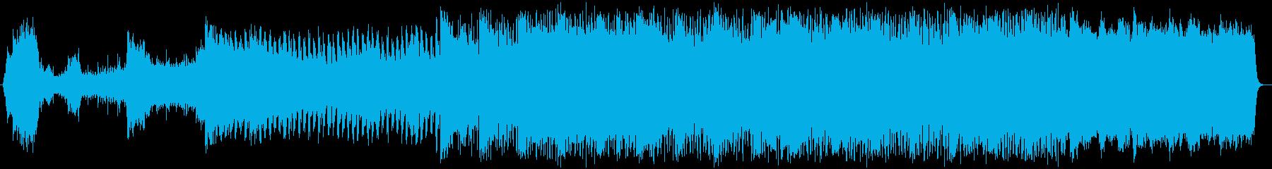 緊迫感のあるクラシック音楽の再生済みの波形