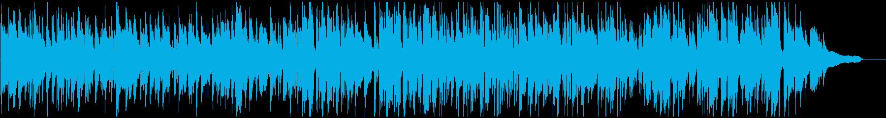 スローテンポなスイング感のゆったりジャズの再生済みの波形