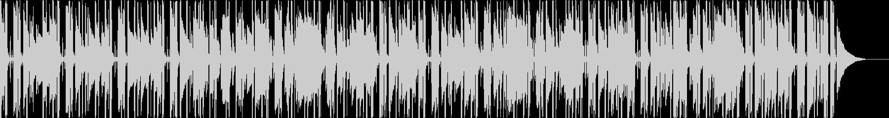 ピアノ+アコギのポジティブなBGMの未再生の波形