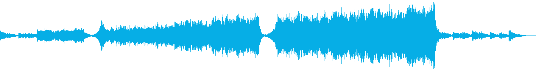 【予告編】トレーラー・エピック・ヒーローの再生済みの波形