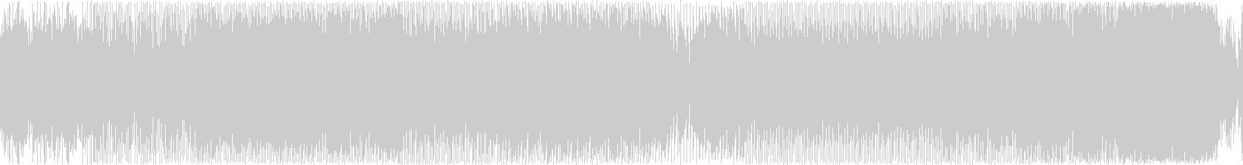 【ループ仕様】神秘的なEDM風BGMの未再生の波形