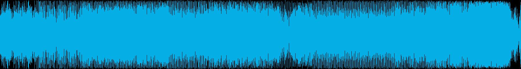【ループ仕様】神秘的なEDM風BGMの再生済みの波形