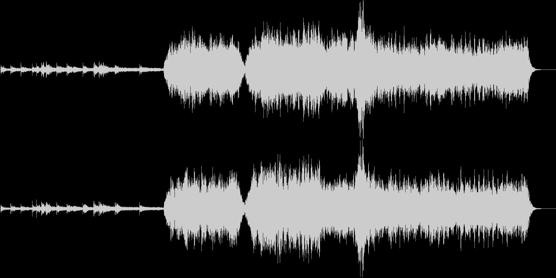 心洗われる神秘的なヒーリングミュージックの未再生の波形