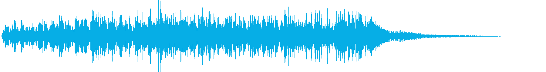 ティンパニ:ロングロール、ティンパ...の再生済みの波形