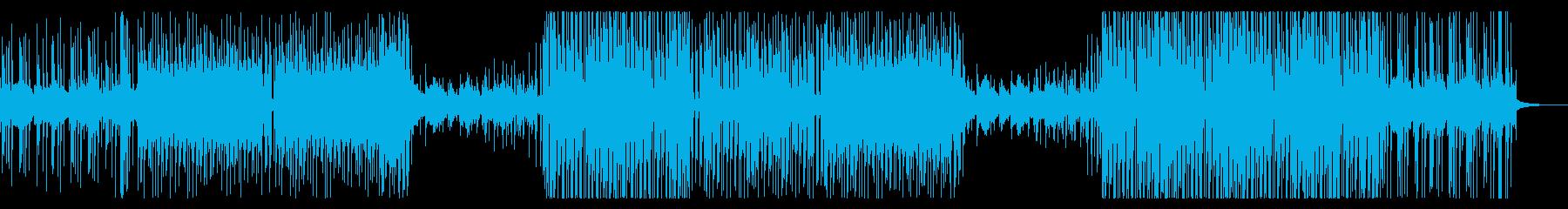洋楽トレンド系さわやかなトロピカルハウスの再生済みの波形