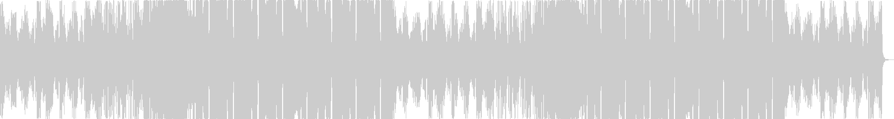 爽やか洋楽チルアウトフューチャーベースaの未再生の波形