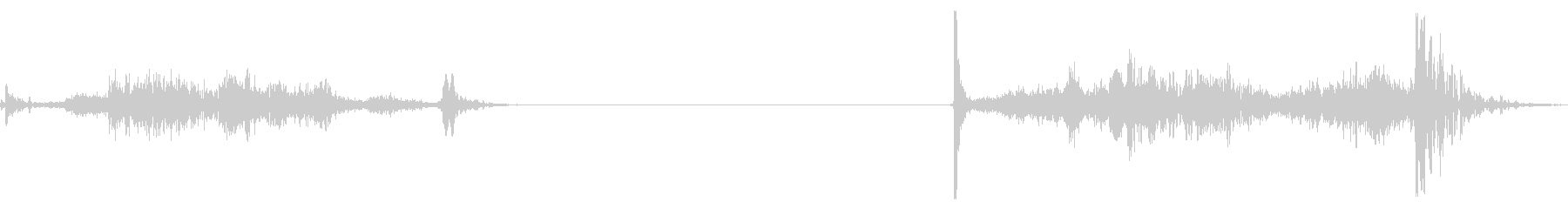 襖の開閉 B-4の未再生の波形