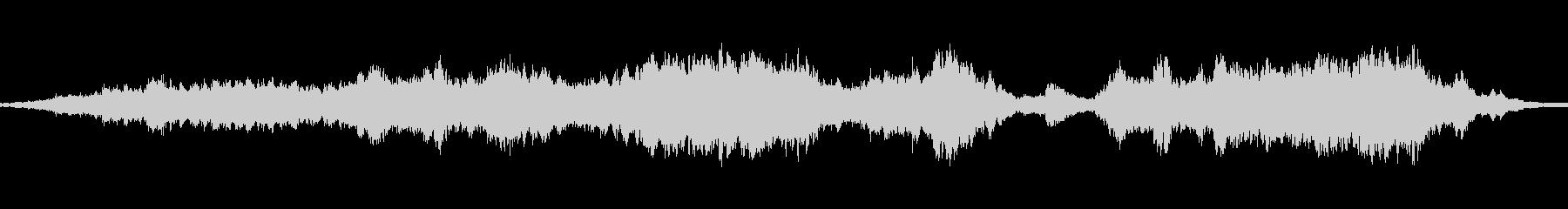 周囲の大気のサウンドスケープは、超...の未再生の波形
