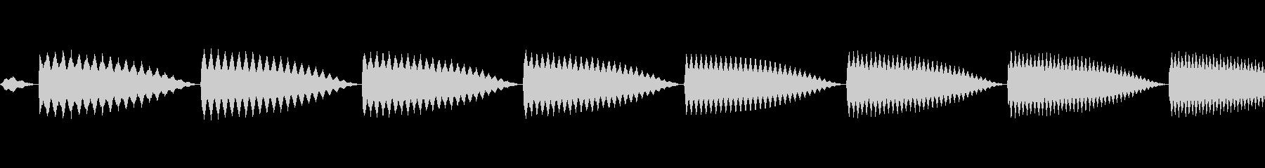 テレレレレンッ!の未再生の波形