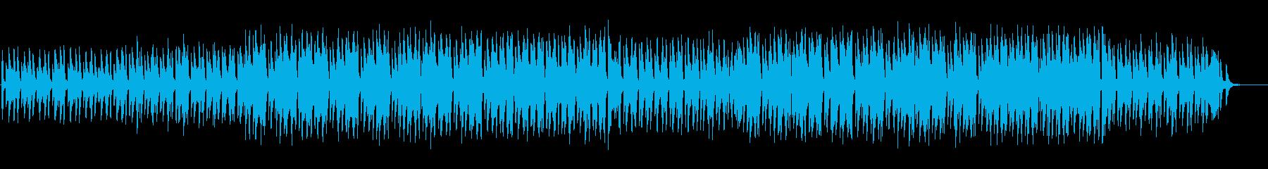 可愛くてゆるいコミカルなBGMの再生済みの波形