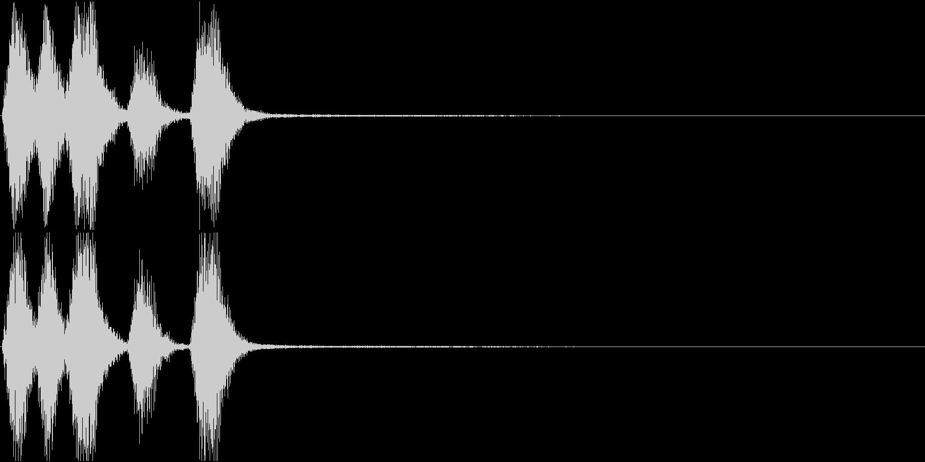 トランペット ファンファーレ 定番 13の未再生の波形