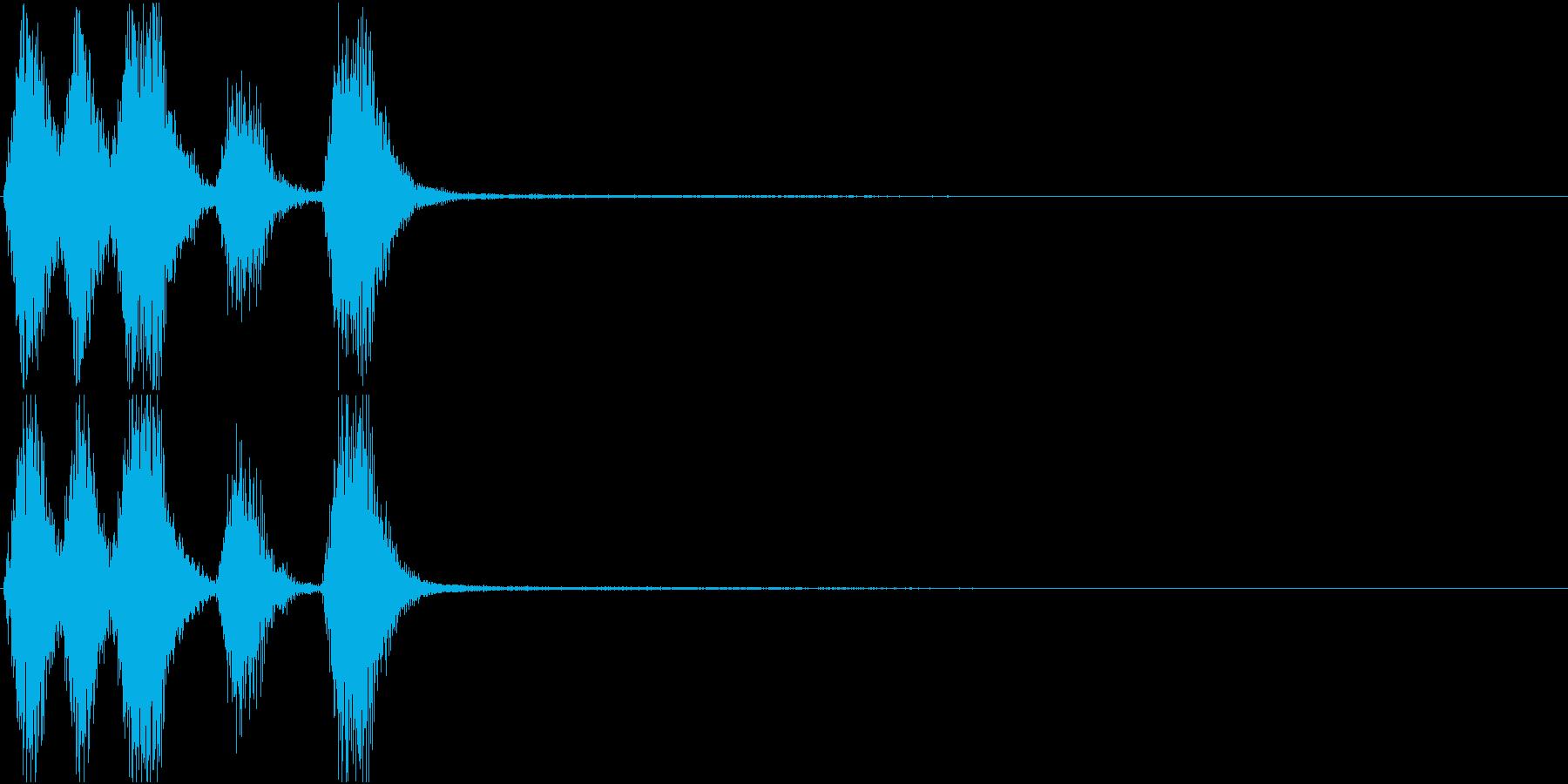 トランペット ファンファーレ 定番 13の再生済みの波形
