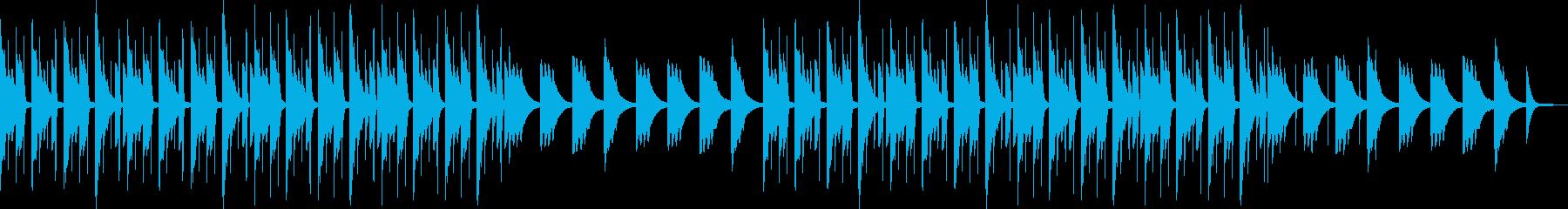 穏やかリラックス・チルアウトヒップホップの再生済みの波形