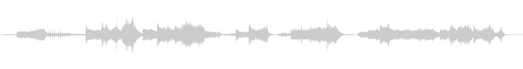 サウンドトラック的多様性と多彩な音色の渦の未再生の波形