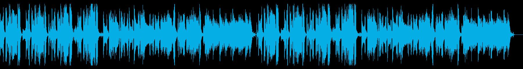 コミカルでスローなハロウィン曲の再生済みの波形