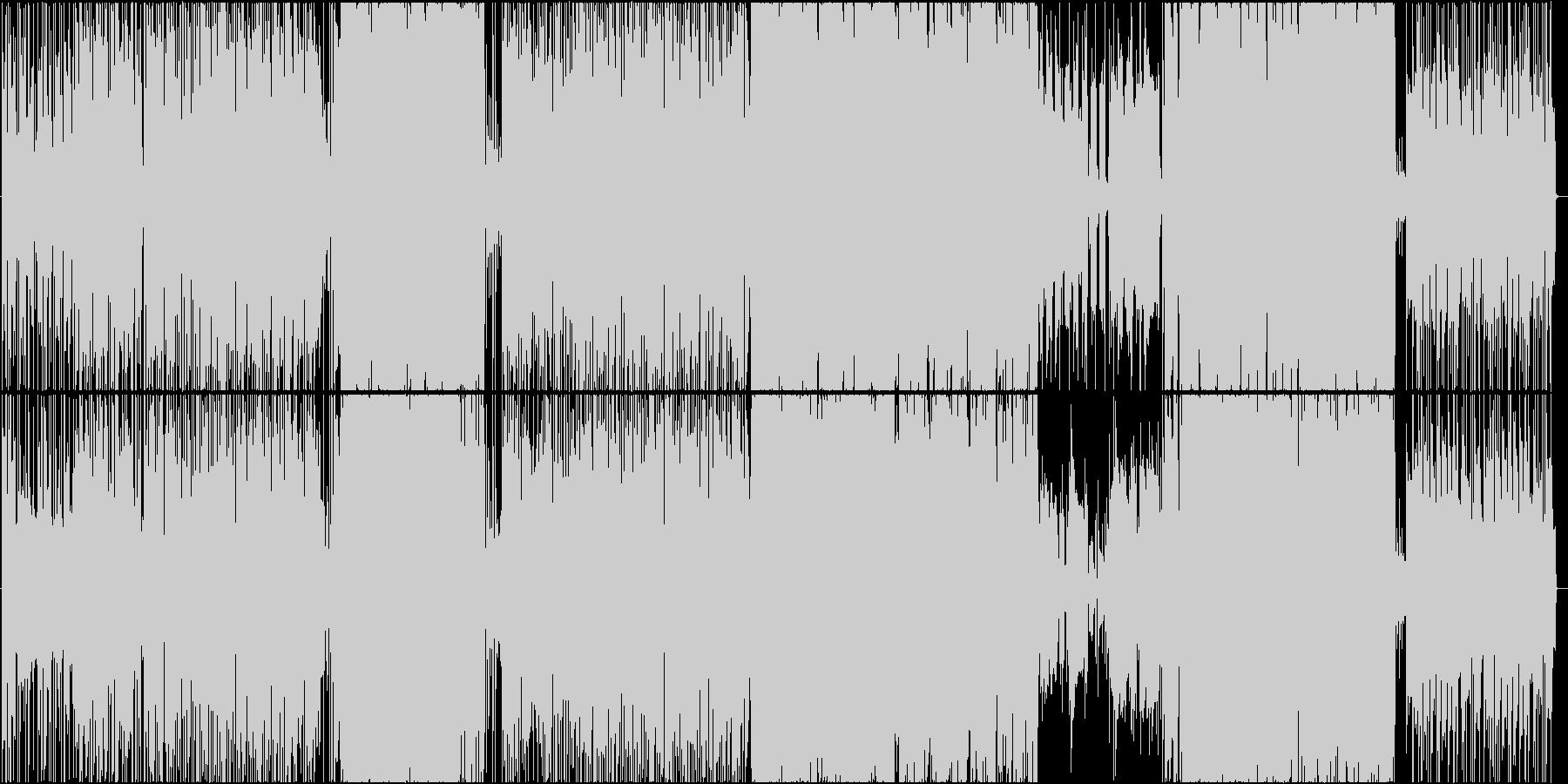 SSWのバンド的な面を見せていく感じのの未再生の波形