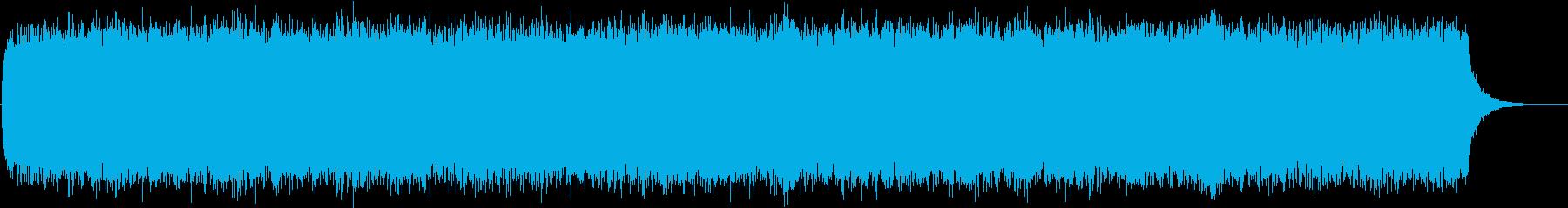 サイエンス歴史ニュースに!妖しい環境音楽の再生済みの波形