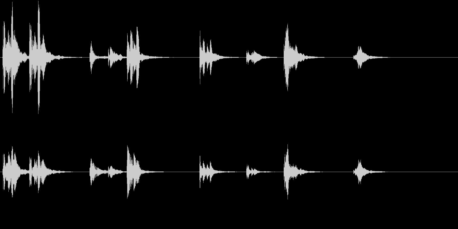 トムとジェリー風アニメ音楽「ウィンク」1の未再生の波形