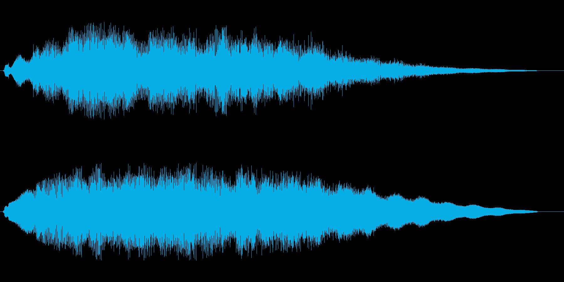 ティリュルラララララの再生済みの波形