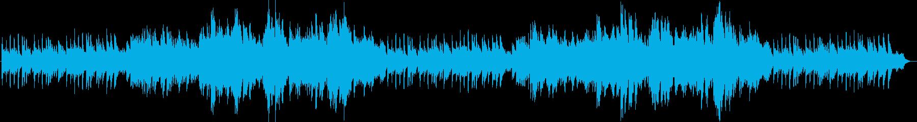 和風の穏やかで切ないオカリナ生演奏の再生済みの波形