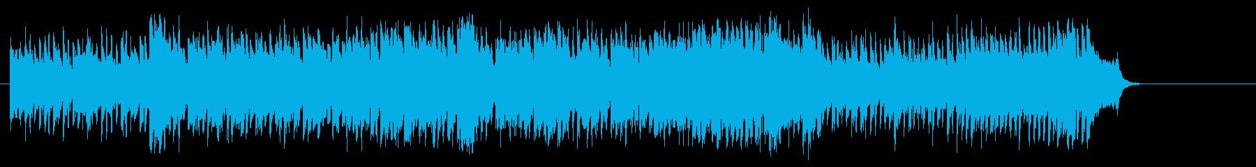 希望に満ちたポップス(イントロ~サビ…)の再生済みの波形