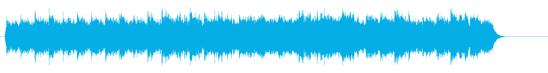 簡素なピアノ・クラシック風の再生済みの波形