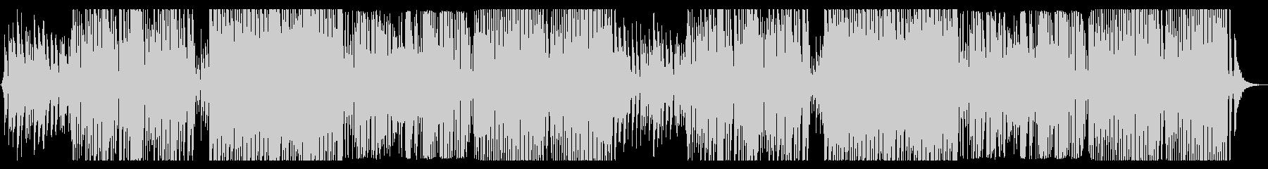 怪しいミディアムテンポのハロウィンBGMの未再生の波形
