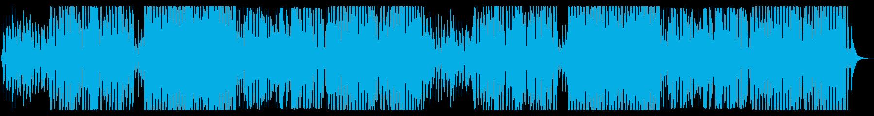 怪しいミディアムテンポのハロウィンBGMの再生済みの波形