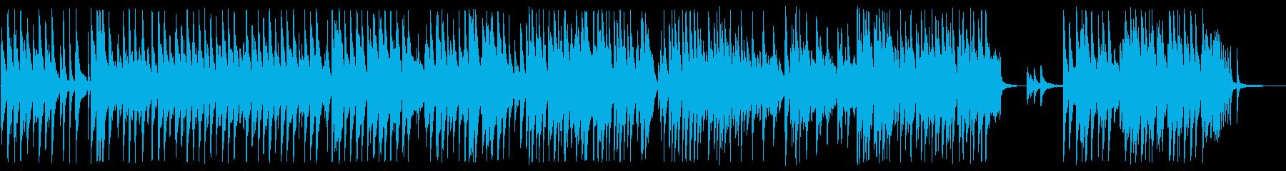 卒業生退場に合うピアノBGMの再生済みの波形