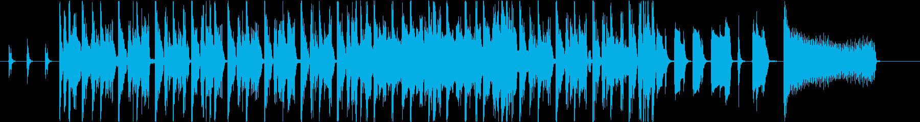 30秒ポップな50's風UpテンポR&Bの再生済みの波形