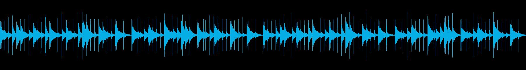 アルプス一万尺 (オルゴール)の再生済みの波形