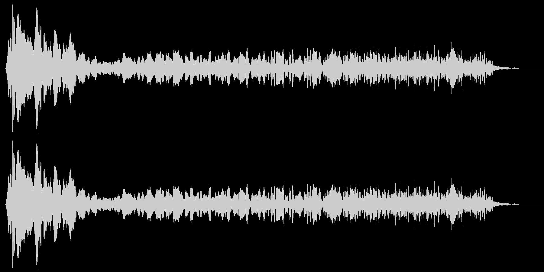 トンビ(トビ、鳶) ピーヒョロロロ 長めの未再生の波形