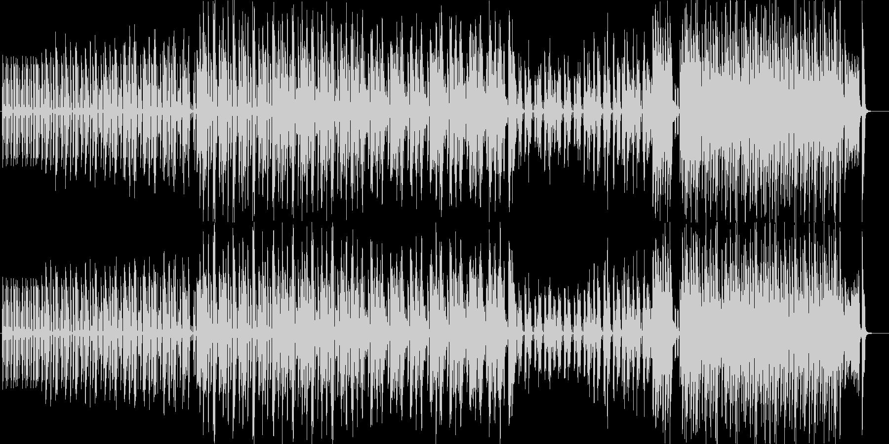 ポップで可愛らしい突撃ユーチューバーの未再生の波形