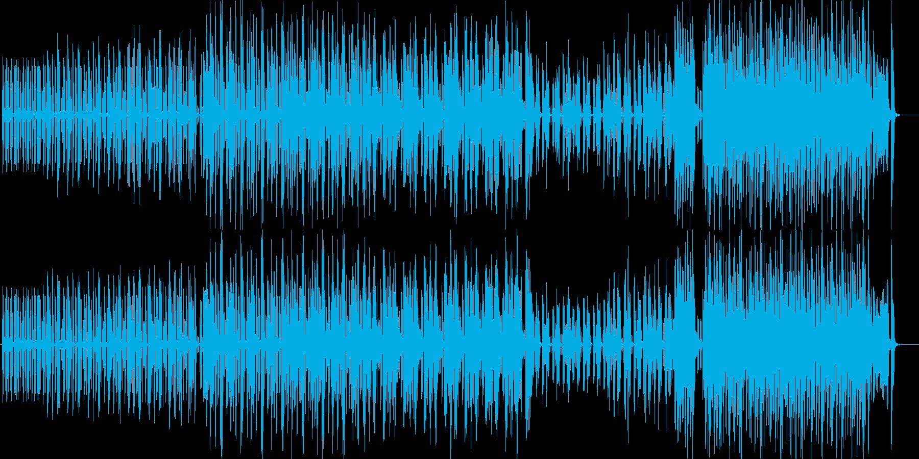 ポップで可愛らしい突撃ユーチューバーの再生済みの波形