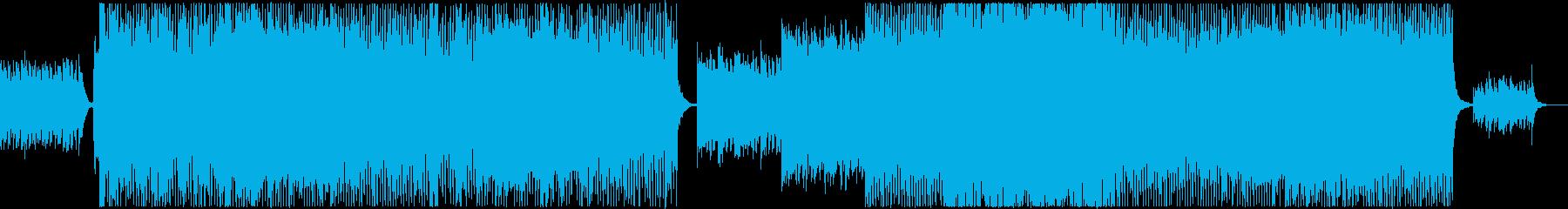 美メロ系ハウスの再生済みの波形