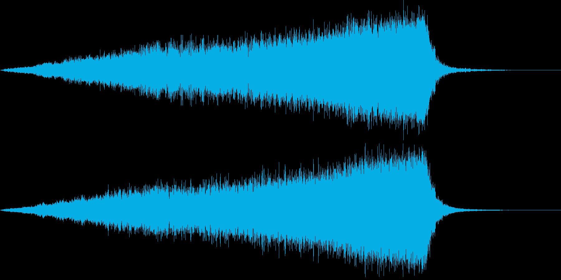 【ライザー】19 SFサウンドの再生済みの波形