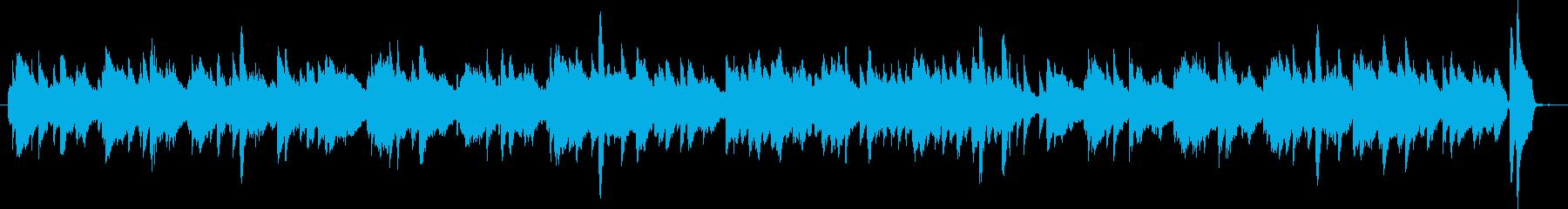 ピアノソロのワルツ・ヨーロッパの民謡ぽいの再生済みの波形