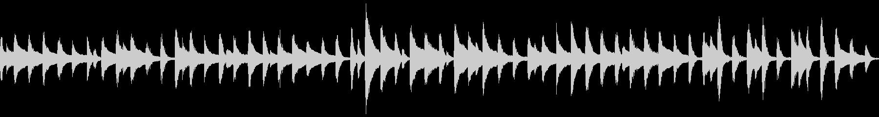 童謡「鯉のぼり」ループ仕様ピアノソロの未再生の波形