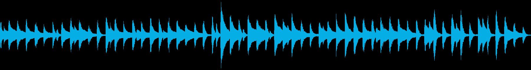 童謡「鯉のぼり」ループ仕様ピアノソロの再生済みの波形