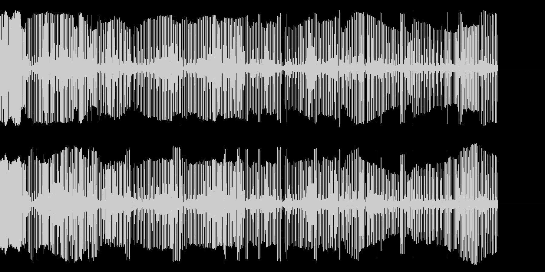 壊れかけの電子音の未再生の波形