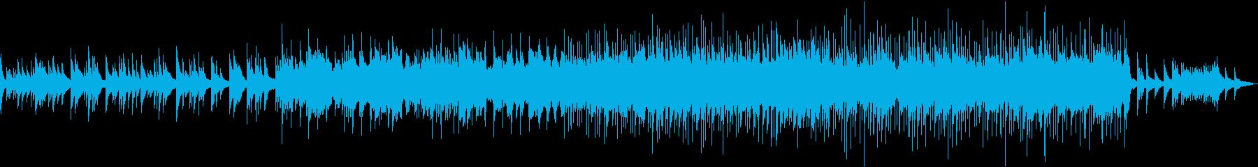 古くて素朴なピアノの旋律がなつかしい曲の再生済みの波形