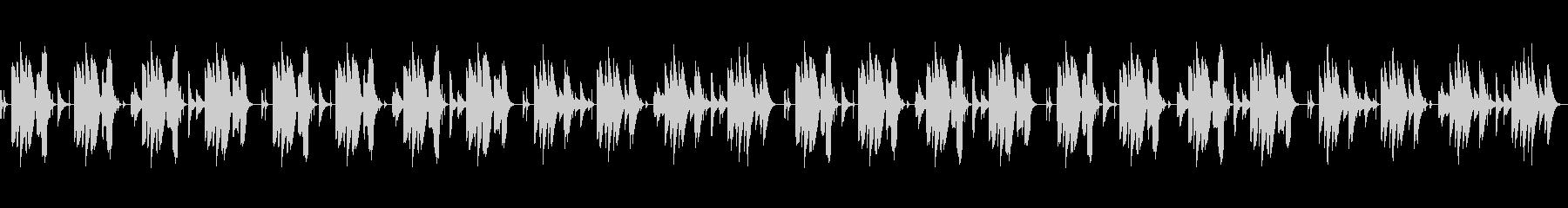気の抜けるほんわか・おとぼけ笛と打楽器の未再生の波形