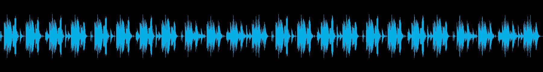 気の抜けるほんわか・おとぼけ笛と打楽器の再生済みの波形