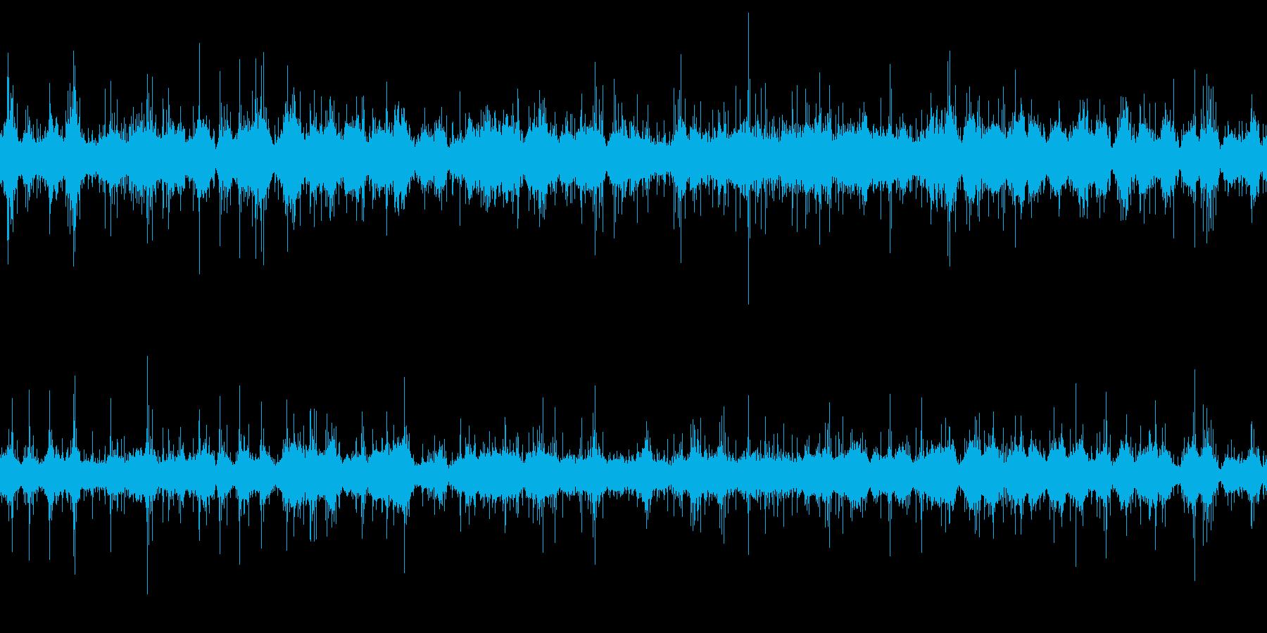 環境音「サラサラ…」4静かな海の再生済みの波形