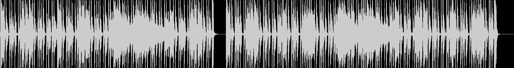 グルーヴ感たっぷりのファンク調セッションの未再生の波形