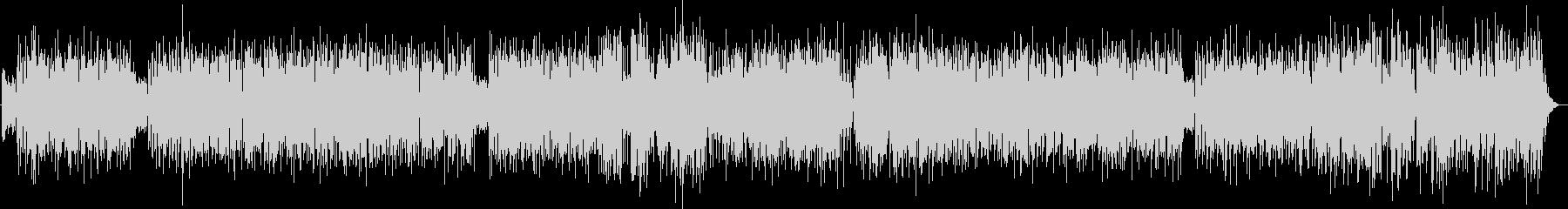 夏らしいフュージョン系ナンバーの未再生の波形