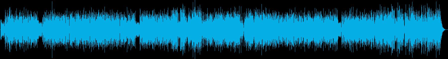 夏らしいフュージョン系ナンバーの再生済みの波形