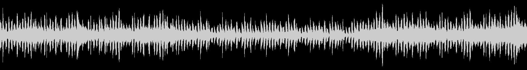 パズルゲームのタイトル画面/ループの未再生の波形